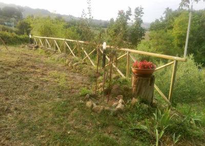 Staccionate e recinzioni in legno o ferro